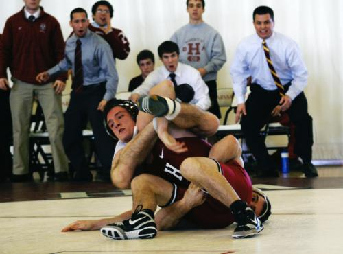 Battling through injuries among four of its top wrestlers, Harvard has been slow out of the gate, dropping its first six matches, including two this past weekend.