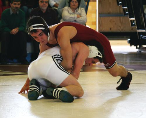 Freshman Shay Warren (133 lbs.) had a performance indicative of the Crimson's overall day, dropping two matches, including a major decision against Lehigh.