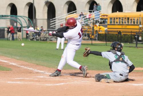 After batting .206 last season, junior Andrew Prince is determined to make more of an impact in 2009.