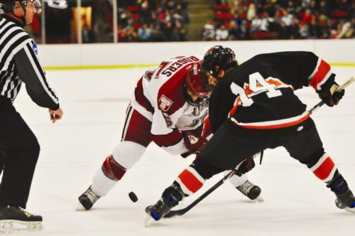 Junior forward Doug Rogers will look to spur Harvard to victory in the best-of-three opening round of ECAC's this weekend. Rogers will likely be instrumental to the Crimson's success, as the third-year star leads the team in goals and total points with ei