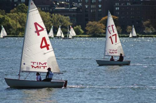 The Harvard sailing team thrived in the summer-like conditions this weekend, taking home one win and two runner-up finishes. The Crimson women qualified for nationals with their second-place performance at the New England Women's Championship, while the c