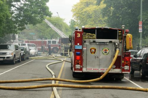 Firefighters suspect an electrial malfunction sparked the blaze that almost completely destroyed the church.