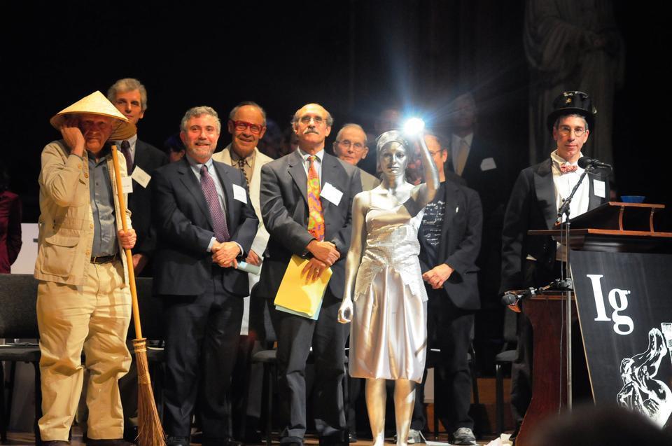 IgNobel Awards Ceremony.