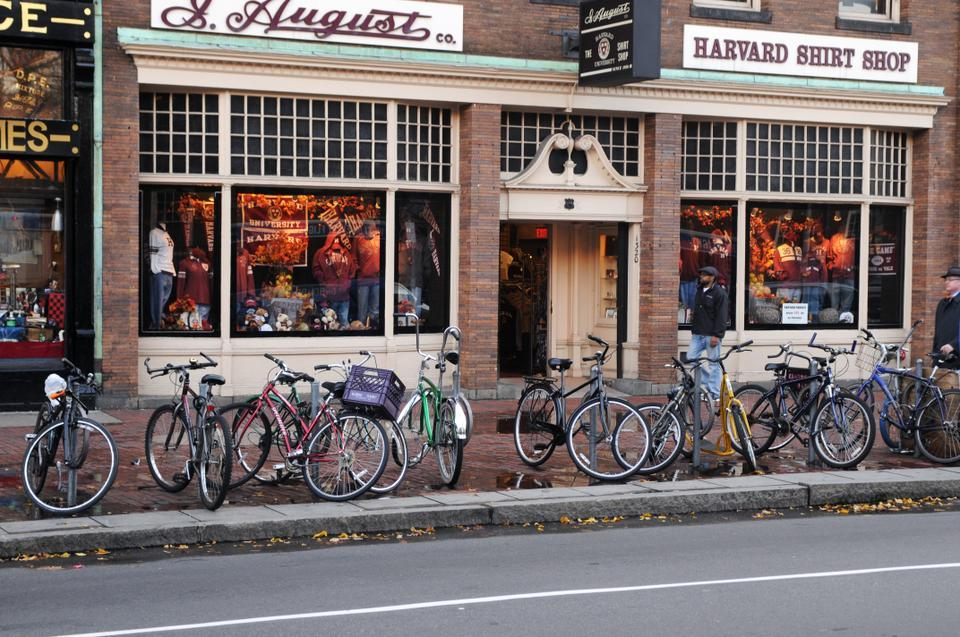 Biking Around Harvard