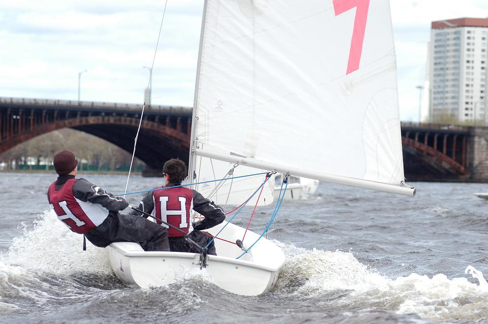 Harvard sailing finished 6th in the Longfellow Bridge Invitational this weekend.