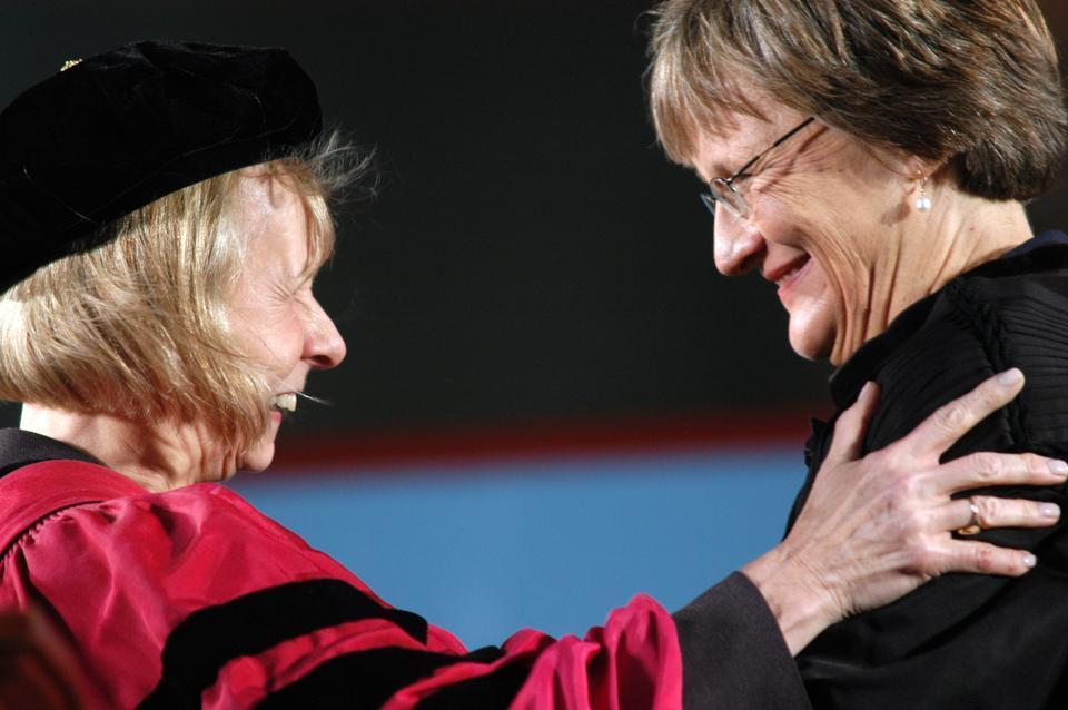 The class of 2010's freshman year was dominated by news stories about the search for a new University president following the resignation of Larry Summers in February 2006. In February 2007, Drew Gilpin Faust was unanimously confirmed as Harvard's first female president.