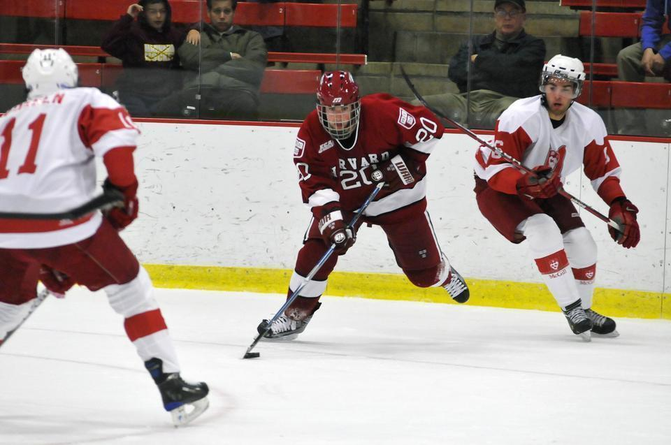 Louis Leblanc chose to forego his last three years of college eligibility by signing an NHL contract.