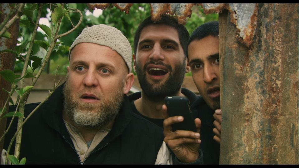 """""""Four Lions"""" follows a quartet of bumbling would-be terrorists as they attempt to form a cell and plan attacks. The comedy was directed by Christopher Morris, creator of """"The Day Today."""""""