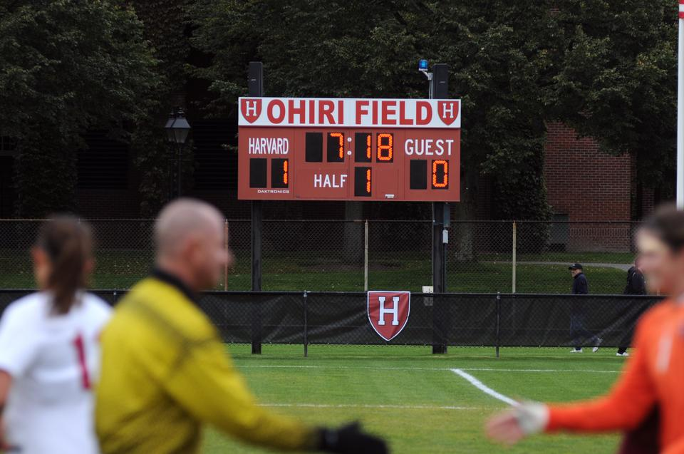 The namesake for the men's and women's soccer field is Chris Ohiri '64, whose 47 goals are tied for best in the men's record book. Ohiri came to Harvard after competing for the Nigerian national team in the 1960 Olympics. Shortly after his prolific career with the Crimson, Ohiri was striken with leukemia and died a political prisoner in his home country.