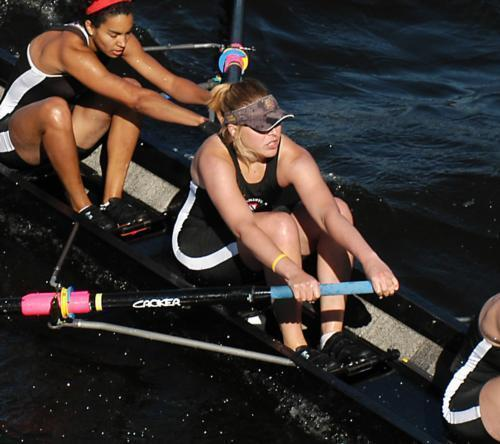 Esther Lofgren '07-09 has had to overcome numerous obstacles throughout her rowing career, but each time, she has responded from her disappointments. Her latest accomplishment is winning the gold medal for the U.S. in the eight at the World Championships.