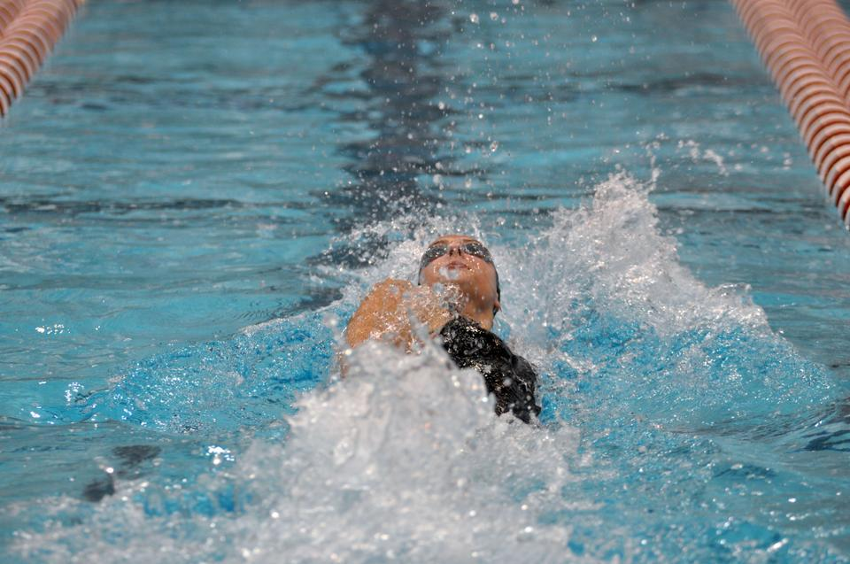 Junior Meghan Leddy came in 18th place overall in the 100 backstroke but set a new school mark in the process. Leddy recorded 55:18 in the race, beating the old mark by .05 seconds. This was just one of three Harvard records broken in the span of two days at the Georgia Invitational.