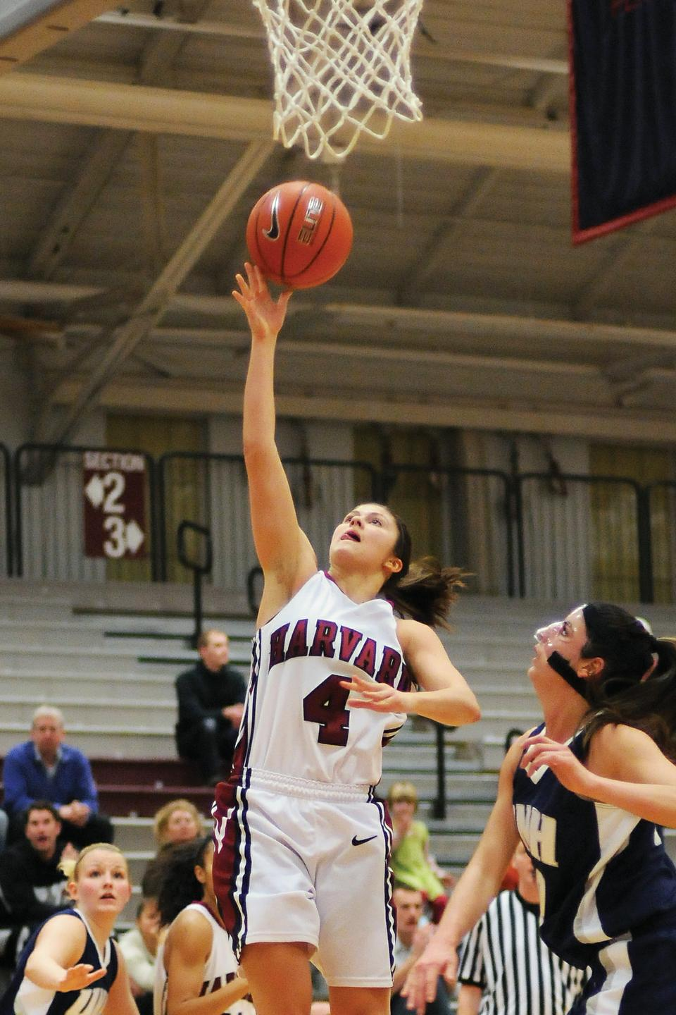 Brogan Berry finished the win with 22 points, the most any Crimson women's player has scored in a game this season.. The junior point guard also contributed four rebounds, five assists, and four steals.