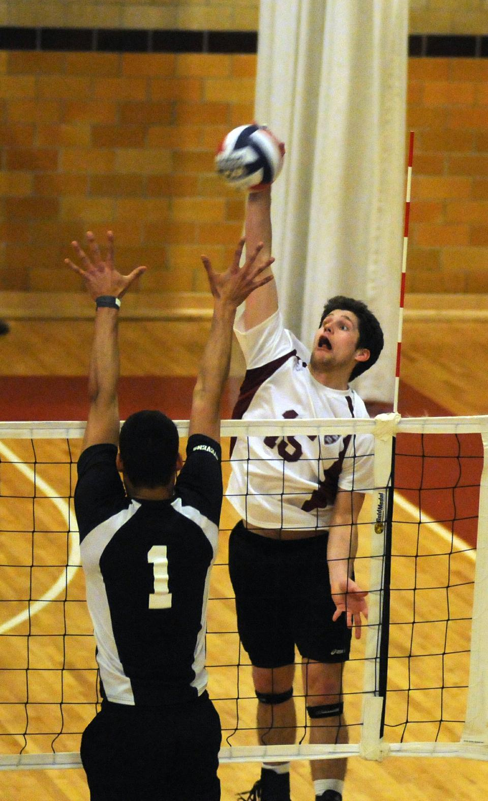 Freshman outside hitter Chris Gibbons, one of four rookie starters for the Crimson, was second on the squad with nine kills in a 3-0 win over Stevens at home Saturday night. Gibbons has picked up 61 kills on the year, helping spark Harvard to a 5-1 record—its best start since 2004.