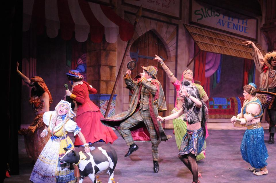 """Hasty Pudding Theatricals' """"Kashmir If You Can"""""""