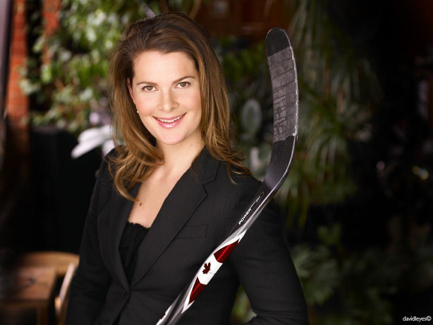Jennifer Botterill '02-'03 won national championship in her freshman year at Harvard and never looked back. Botterill has won three Olympic gold medals and five world championships with the Canadian national team.