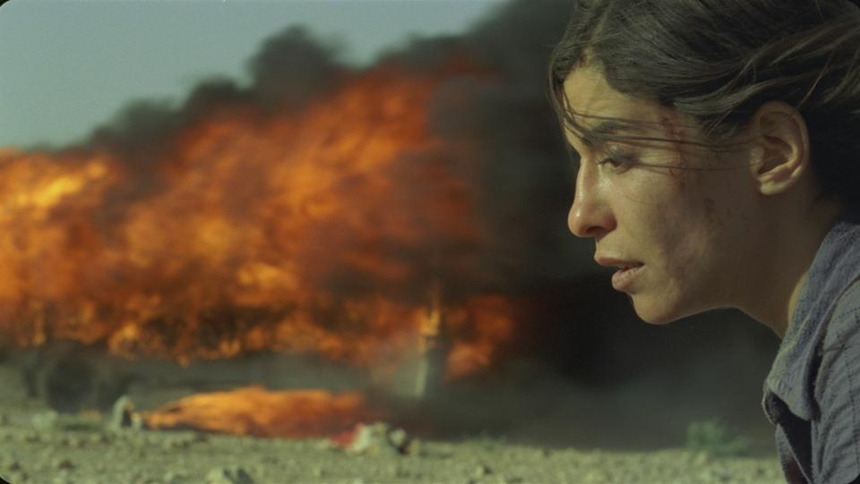 """Lubna Azabal plays Nawal Marwan, a mother with a closely guarded secret past long hidden from her children, in Denis Villeneuve's """"Incendies."""""""