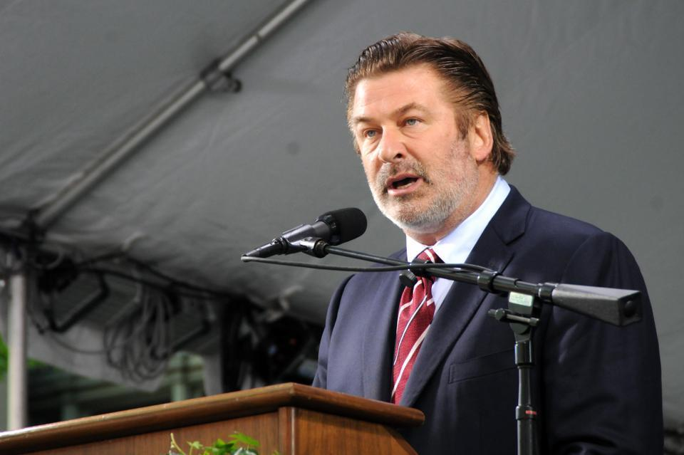 Actor Alec Baldwin, chosen as Class Day Speaker for the Harvard Law School, discusses the power and opportunity presented to graduates upon the completion of their degree.