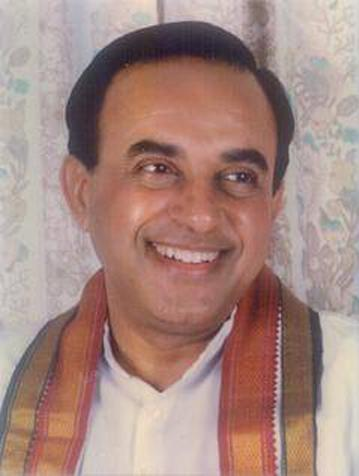 Subramanian Swamy, seen above, is accused of penning an op-ed that is inflammatory towards Muslims.