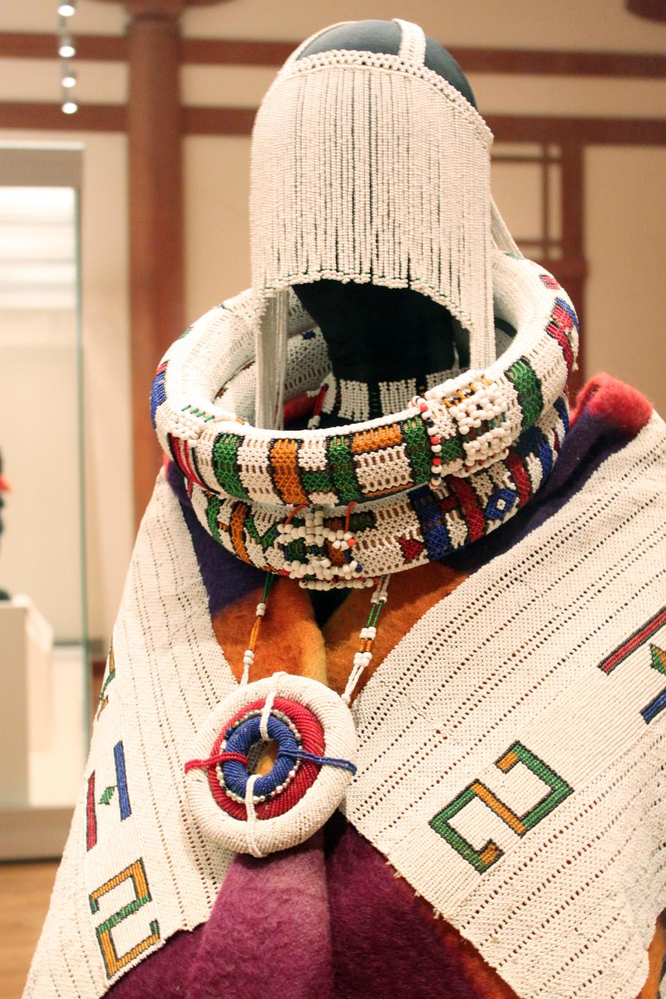 "The exhibit, ""Global Patterns: Dress and Textiles in Africa"" will be on display at the MFA until January 8, 2012."