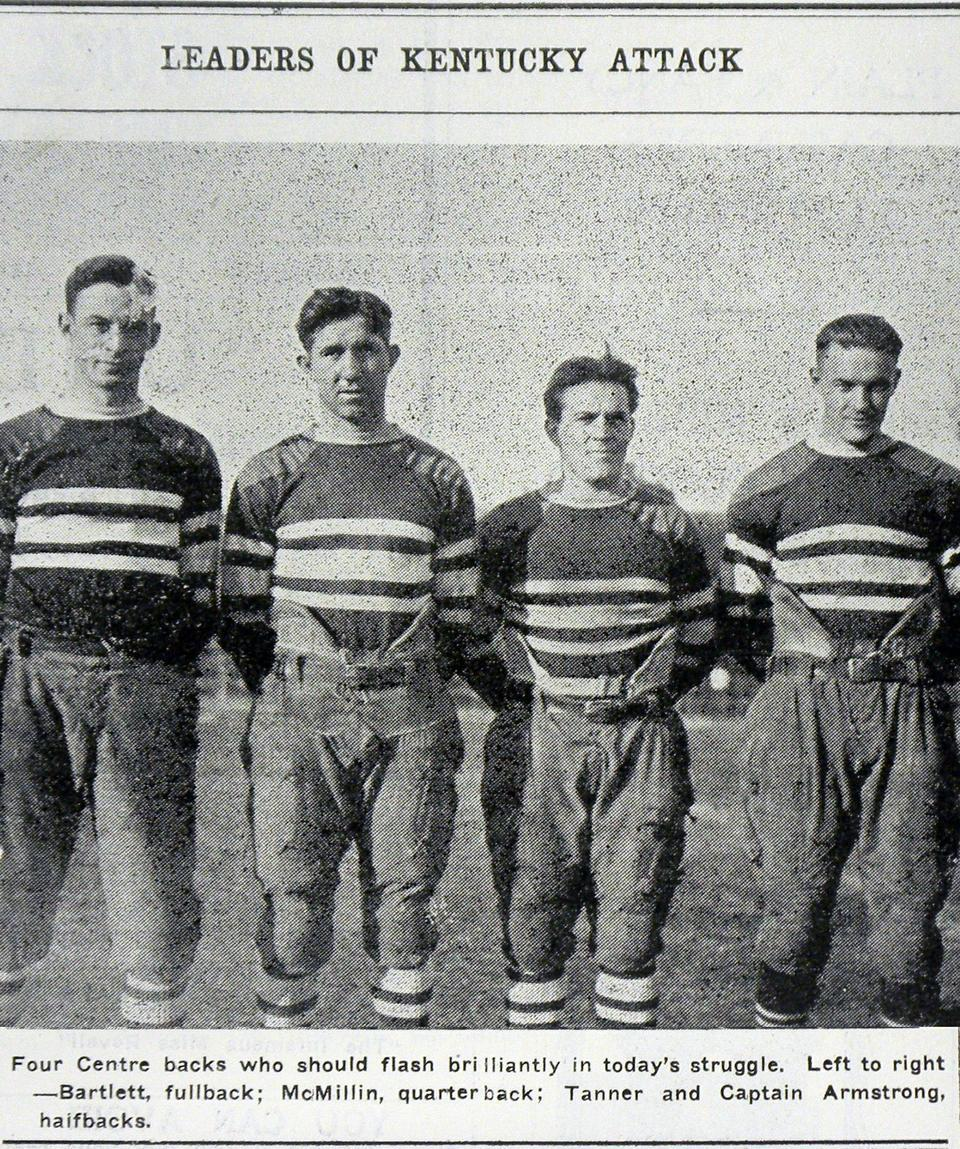 In 1921, Harvard lost to Centre College, 6-0, despite the Crimson's undefeated streak dating back to 1916. It is still considered one of the biggest upsets in college football history.
