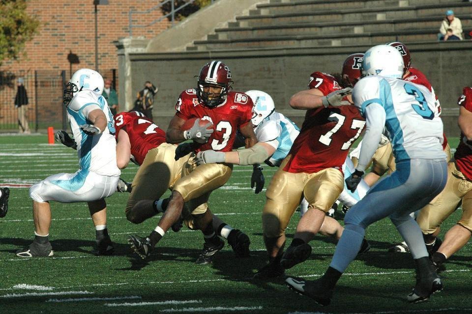 Former NFL running back Clifton Dawson '07 has returned to the gridiron as coach of his Harvard Business School section's flag football team. Dawson, who is the all-time leader in rushing yards in the Ivy League, decided not to play because he thought his team would have an unfair edge.