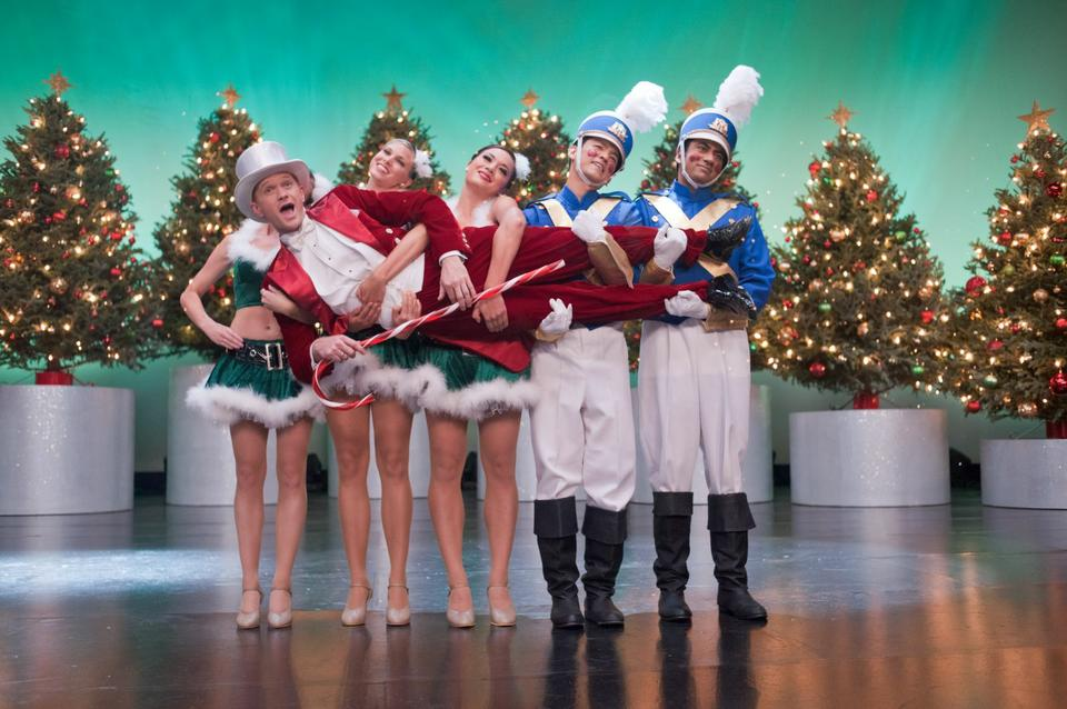 "John Cho, Kal Penn and Neal Patrick Harris star in ""A Very Harold and Kumar 3D Christmas."""