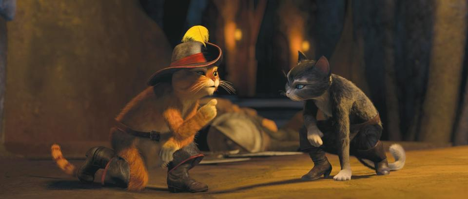 """Antonio Banderas voices the irrascible title character in director Chris Miller's new movie """"Puss in Boots."""""""