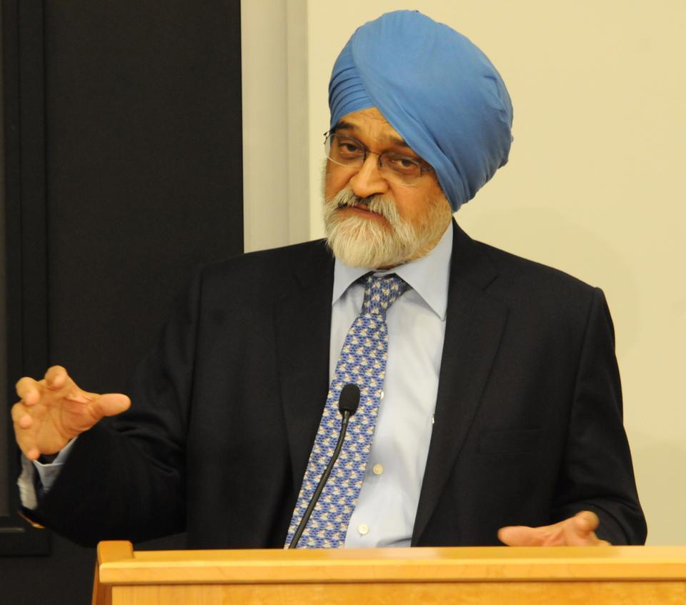 Montek Singh Ahluwalia deputy chairman of the Planning Commission for India describes India's current economic situation as future challenges and goals