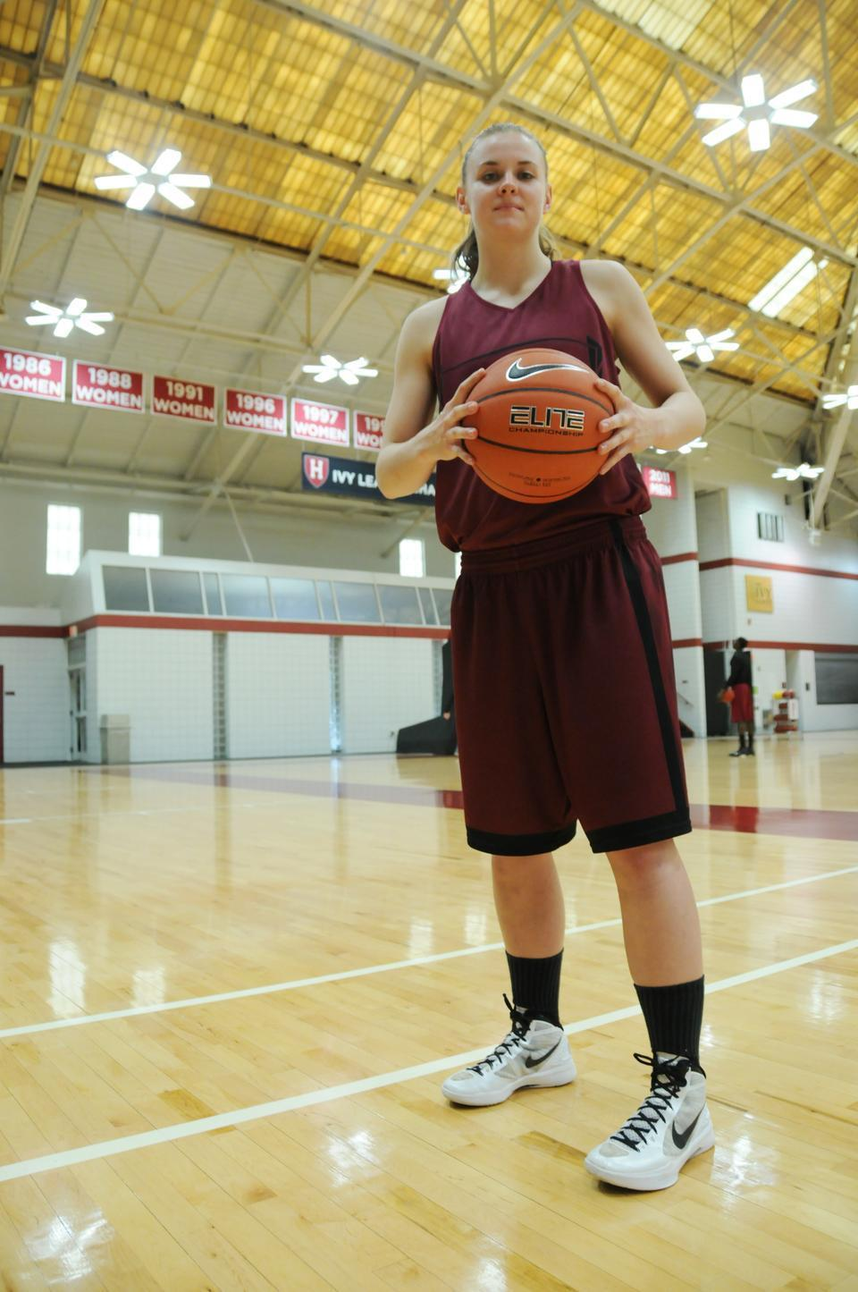 Christine Clark, entering her second year on the team, will be a forced to be reckoned with in the Ivy League