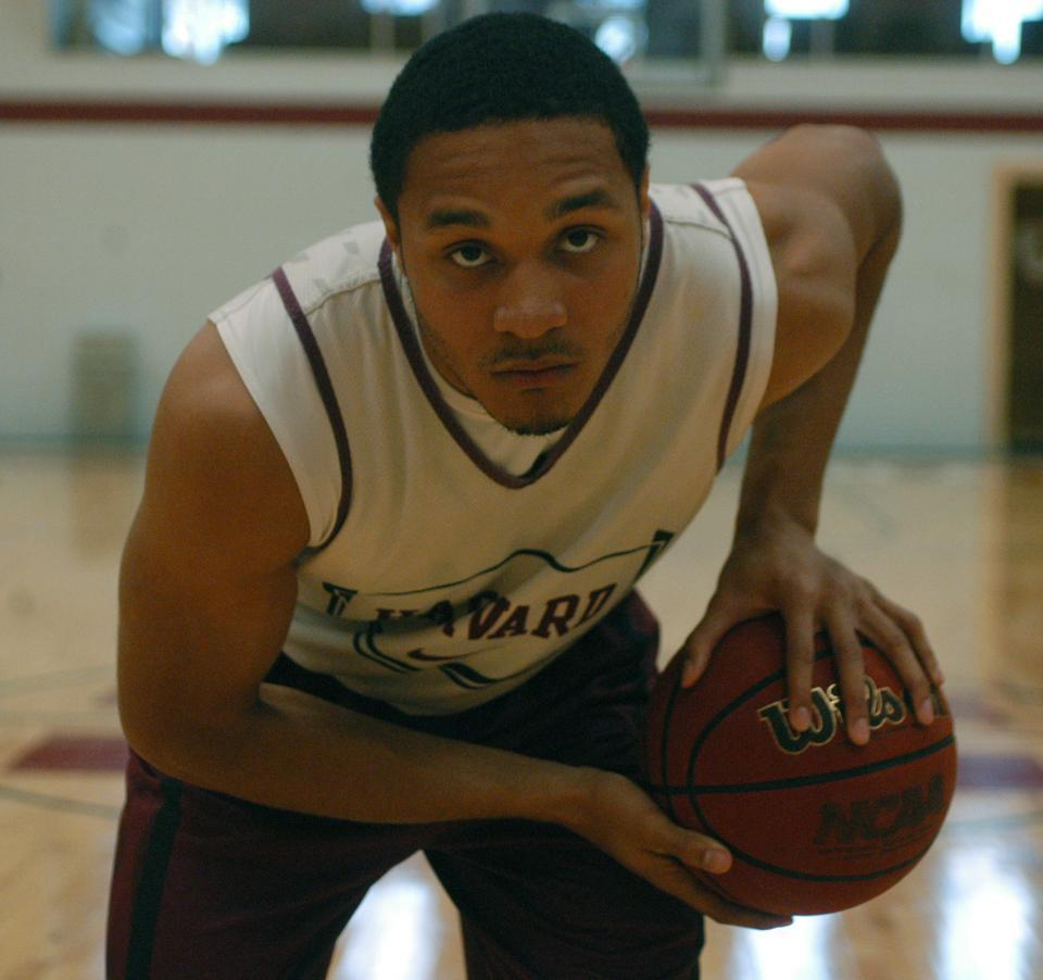 Junior Brandyn Curry went from a little chubby kid to Harvard's starting point guard.