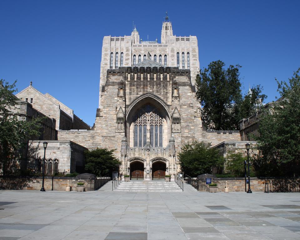 Yale's New Haven campus.