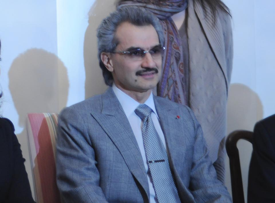 Prince Alwaleed Bin Talal of Saudi Arabia discusses the effects of the Arab Spring and the future of government in the Middle East on Wednesday.