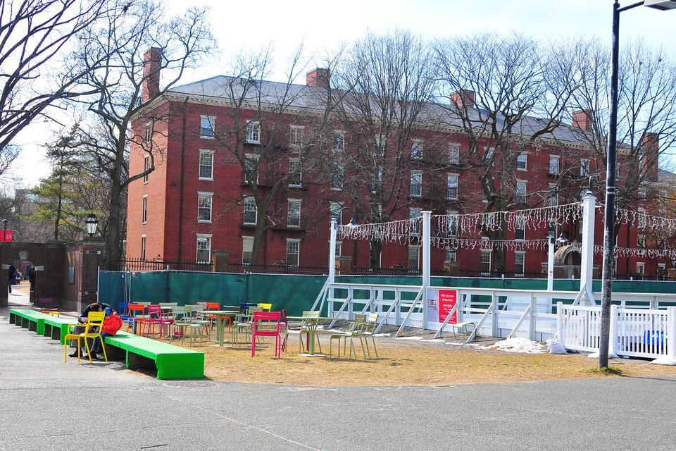 Harvard will refurbish the plaza in front of the Science Center in the coming months.