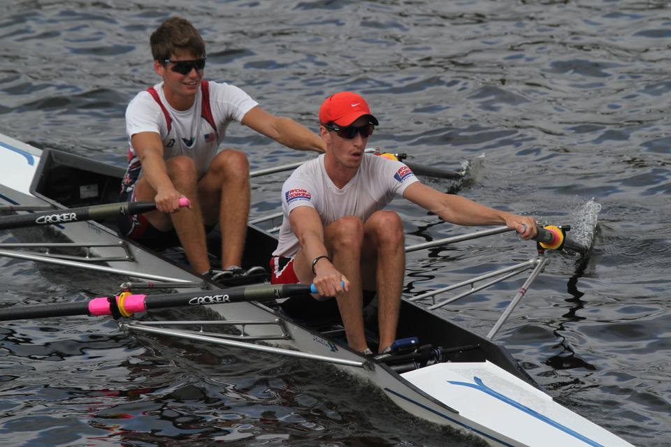 After finishing in the top five at both senior worlds and the U23 World Championships this past summer, Andrew Campbell '14-15 teamed up with Boston University graduate Will Daly to compete as a lightweight double. The duo will race in Lucerne, Switzerland for a trip to the Olympics.