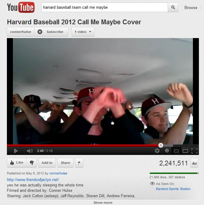 Jack Colton (asleep), Jeff Reynolds, Steven Dill, Andrew Ferreira, Marcus Way, Kyle Larrow, Jon Smart, and Joey Novak have found viral video fame.