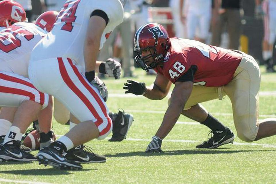 The Ivy League Defensive Player of the Year, fifth-year senior Josue Ortiz led the conference with 10 sacks and finished fourth with 14.5 tackles for a loss.