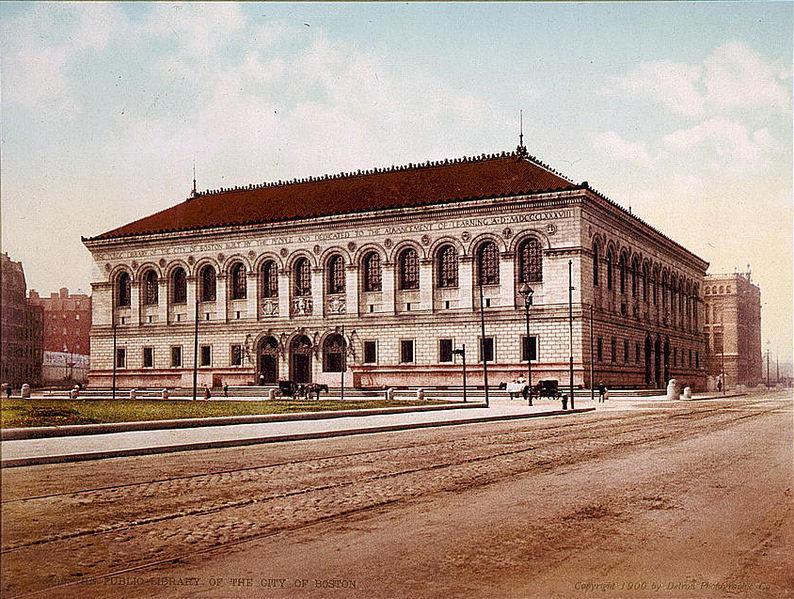 Boston's Library