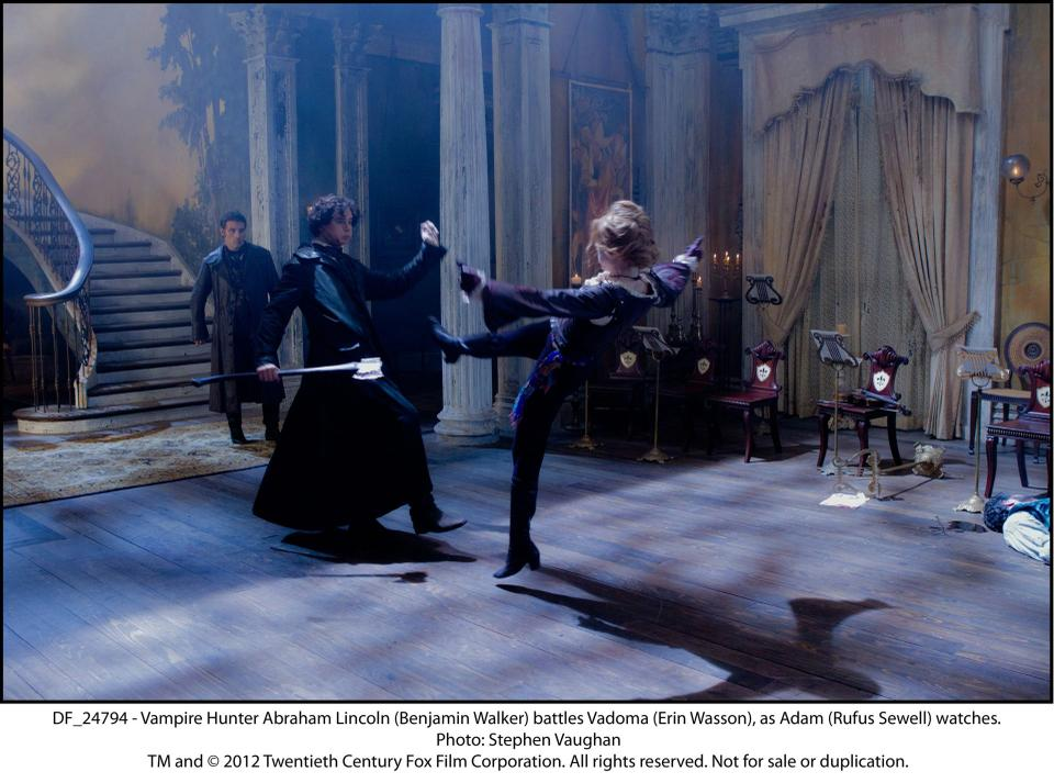 Weak Plot Hemmorhages Vampire Hunter Arts The Harvard Crimson