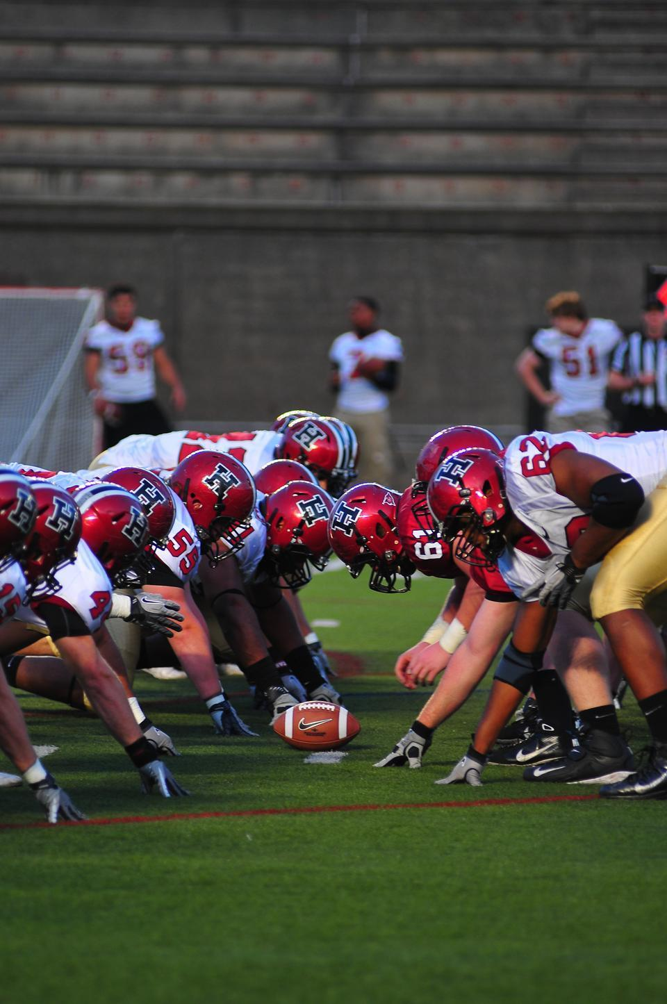 The Crimson, shown here in its annual spring game, will open the 2012 season at home against San Diego on Saturday afternoon. The two teams have never met, but the matchup with Harvard will be the Toreros' ninth time facing an Ivy opponent, the most recent of which was Yale in 2006.