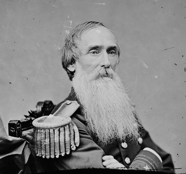 Rear Admiral Benjamin Sands and his beard.