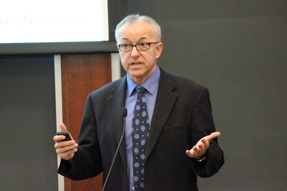 Harvard Medical School Dean George Q. Daley '82, pictured here in 2012, said he has been both formally and informally consulted by the search committee.