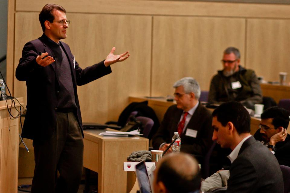 Senior director of architecture research at NVIDIA Stephen Keckler was one of many speakers present at Saturday's computing symposium. The topics focused on the potential and future of supercomputers, and Keckler contributed by discussing commodity technologies.