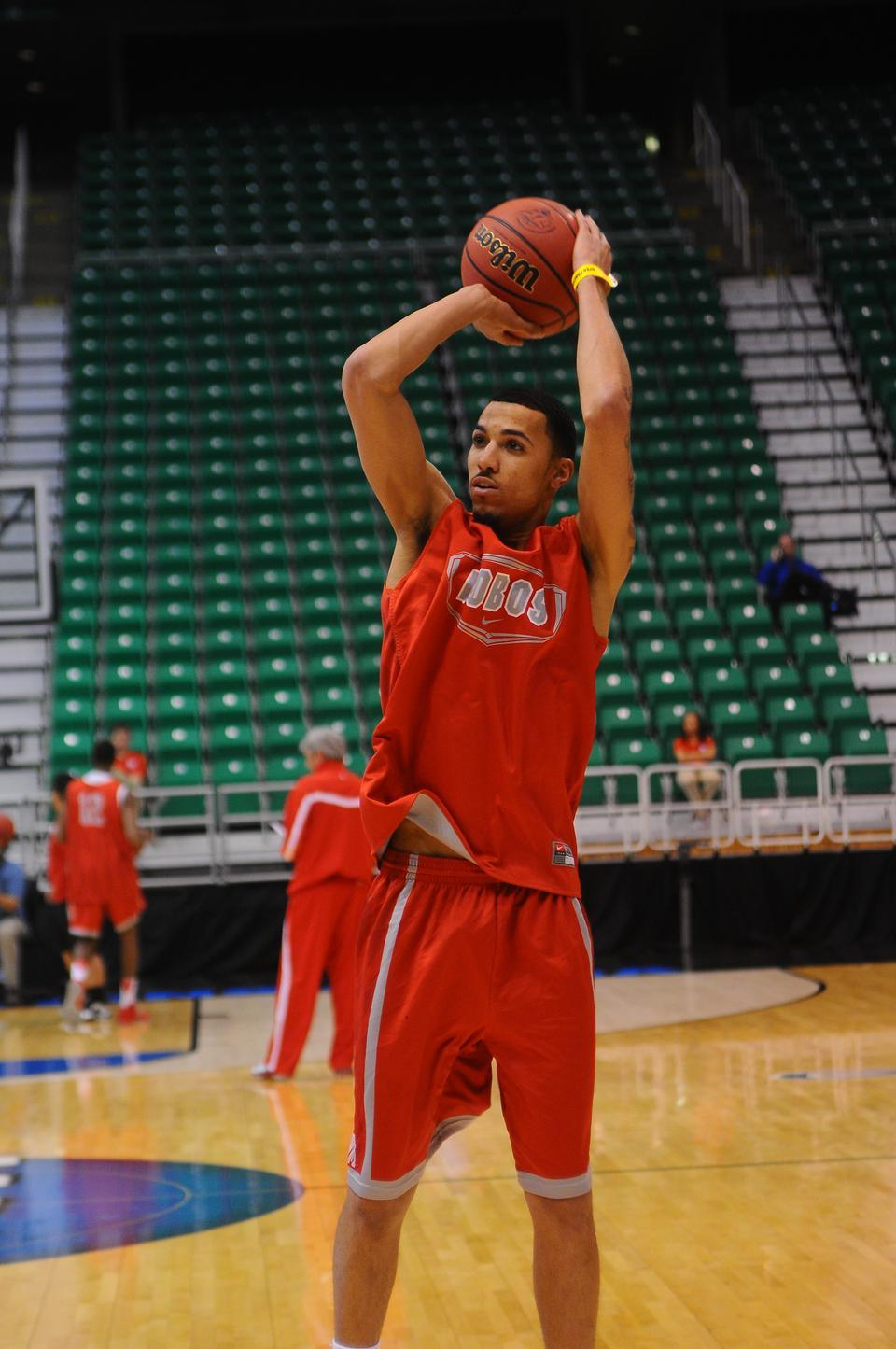 Mountain West Conference Player of the Year Kendall Williams hopes to finally lead New Mexico to the Sweet 16.