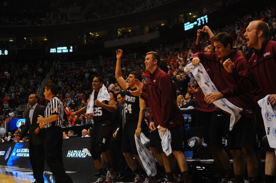 The Harvard men's basketball team topped the University of New Mexico, 68-62, on Thursday.