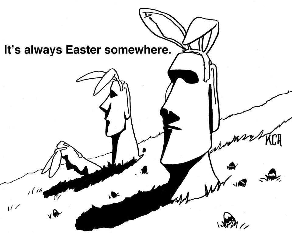 Easter Somewhere