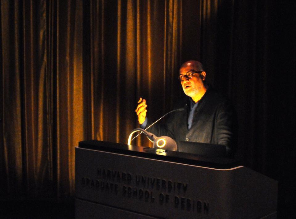 Rahul Mehrotra describes the Indian religious festival Kumbh Mela at the Graduate School of Design