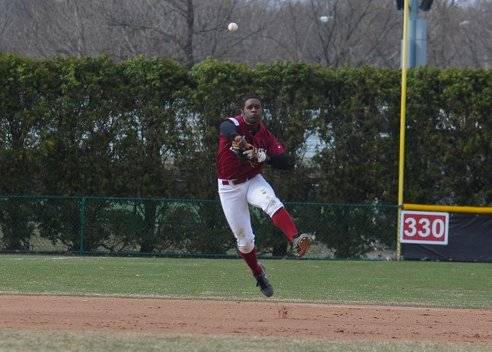 Junior outfielder Carlton Bailey went 1-for-5 and knocked in two RBIs for the Crimson in the second game of Sunday's doubleheader against Princeton. The game, which Harvard won, 20-19, featured 38 hits, nine fielding errors, three Grand Slams, and five lead changes.