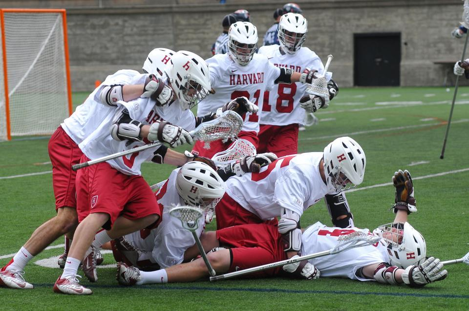 After coming up short against ranked teams the last two weekends, Harvard men's lacrosse broke through with an 8-7 overtime victory over No. 16/14 Penn.