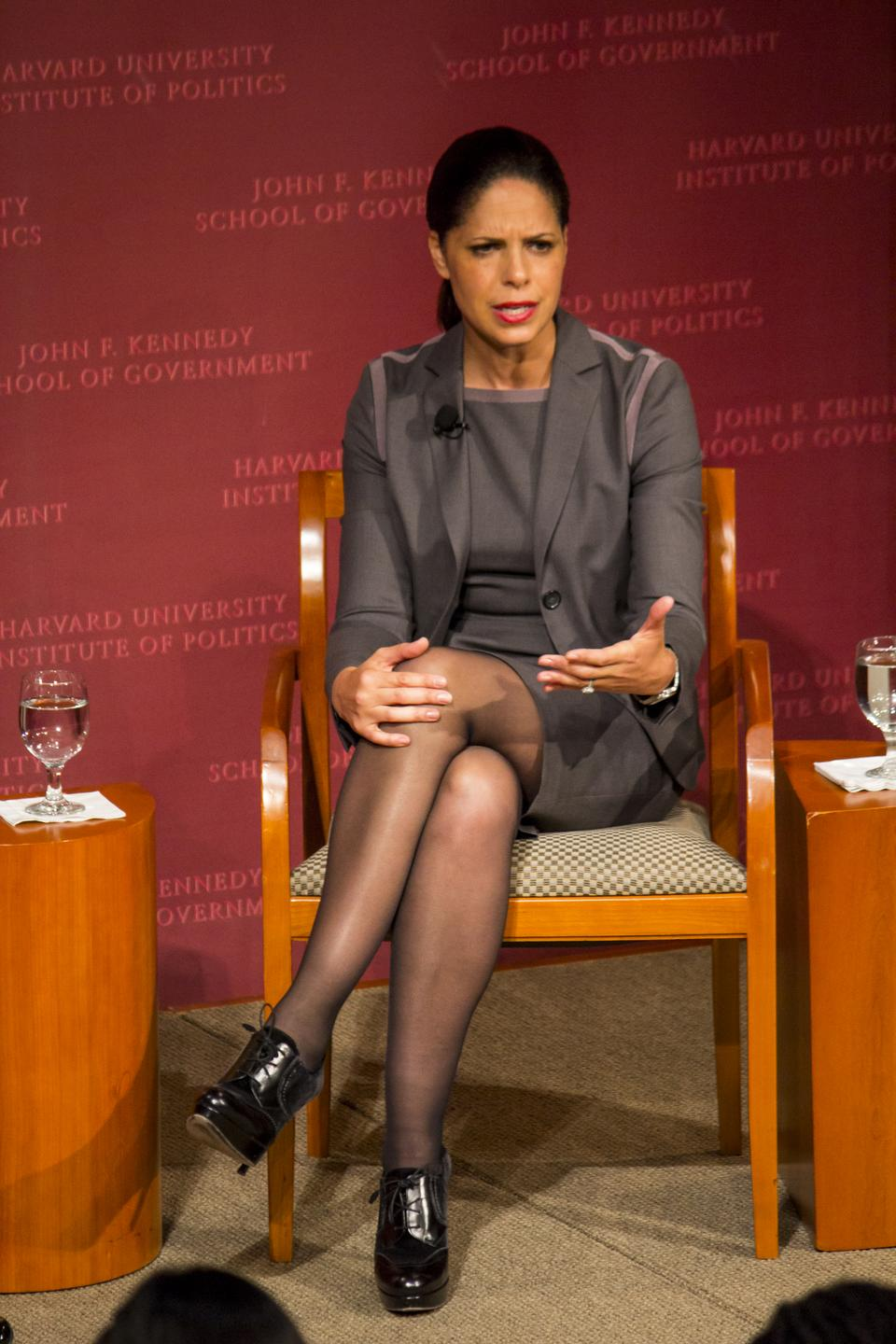 Broadcast journalist Soledad M. O'Brien '88-'00 speaks at the Institute of Politics on May 4. O'Brien will deliver remarks as the Class Day speaker for the Class of 2013.
