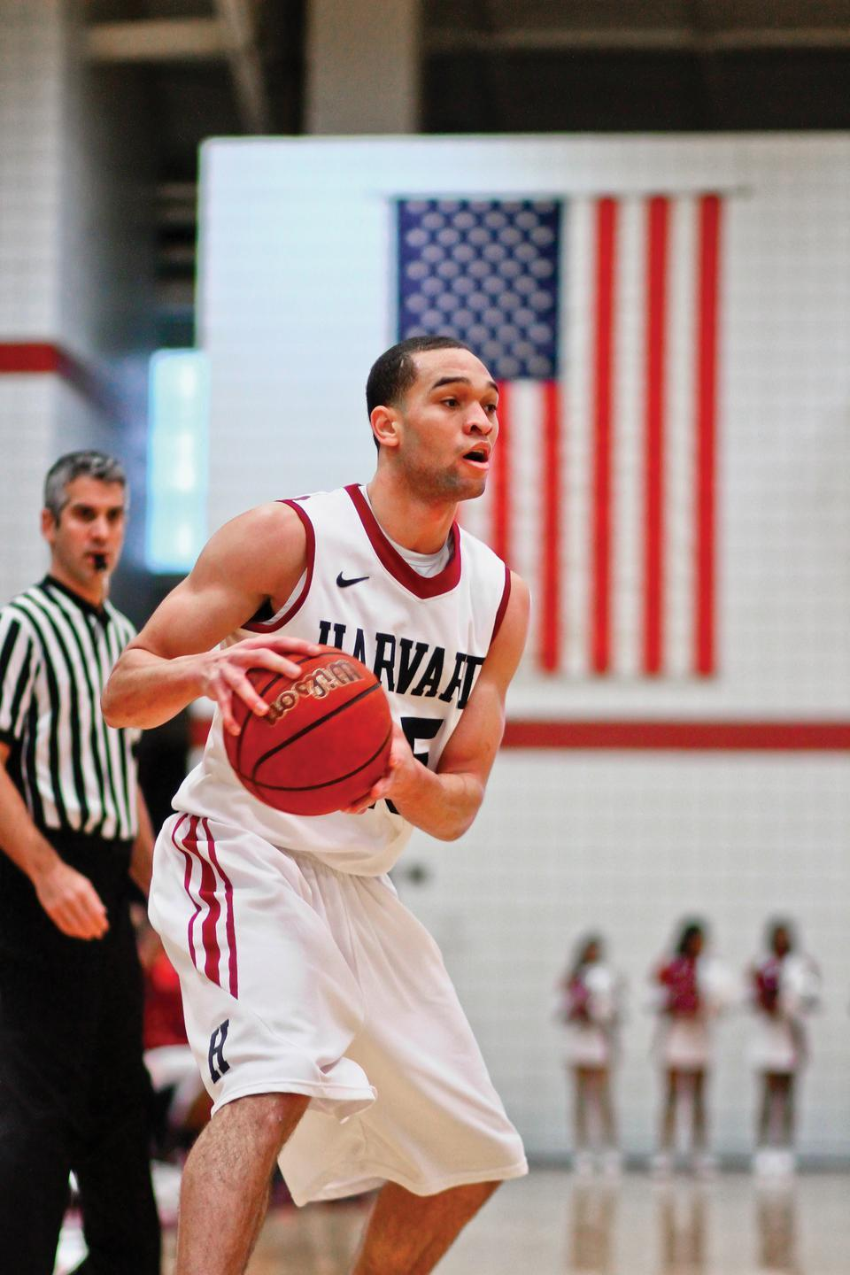 Senior Christian Webster of the Harvard men's basketball them will travel to Cuba this summer with Full Court Peace, an organization dedicated to empowering youth through the creation of basketball teams.